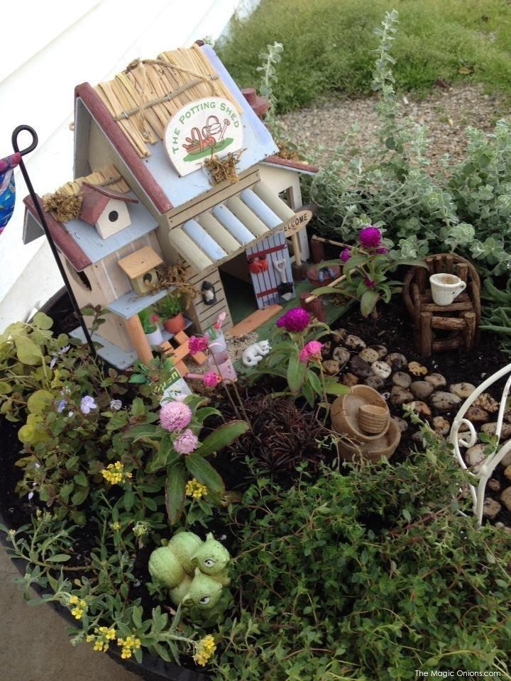 Magical Fairy Garden on The Magic Onions Fairy Garden Blog