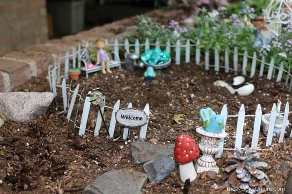 Magical Fairy Garden : The Magic Onions : www.theMagicOnions.com
