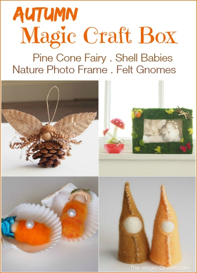 Autumn Magic Craft Box : The Magic Onions : www.theMagicOnions.com/shop
