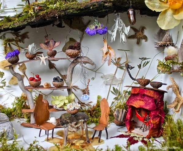 Amazing Fairy Garden : Fairy Garden Contest Finalists : The Magic Onions