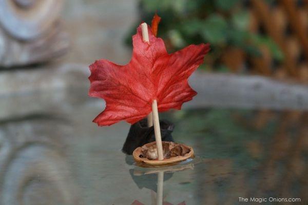 Tutorial : Walnut Shell Leaf Boat