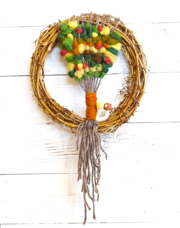 Autumn Woven Tree Tapestry : The Magic Onions Blog