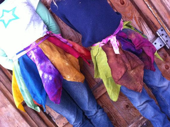 Silk Fairy Skirt from BirchLeaf Designs