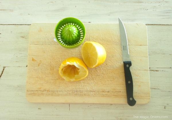 Photo of lemon juice