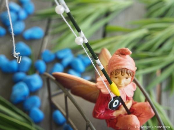 Photo of a Mini Fairy Garden Accessories Fishing Pole