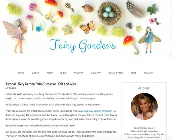 photo of the best fairy garden site