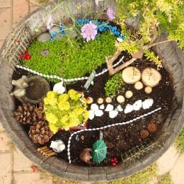 Teddy's Fairy Garden