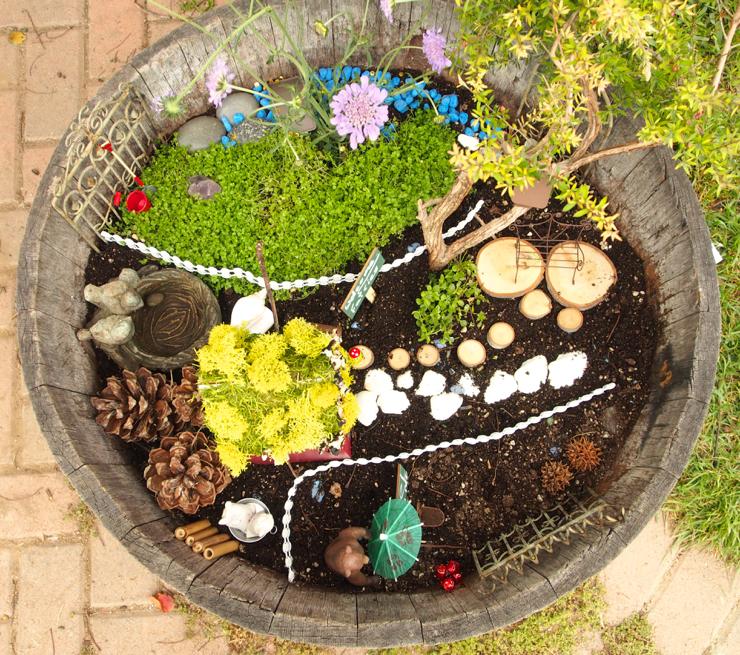 magical fairy garden photo