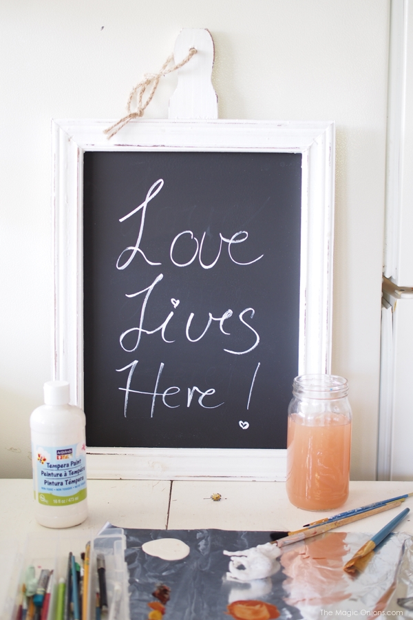 photo of love lives here