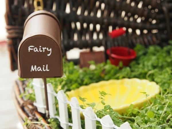 phto of a fairy mailbox