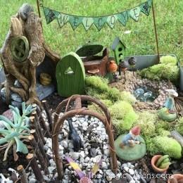 Fairy Garden Feature : Welcome Village