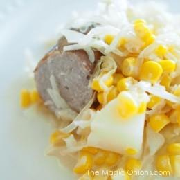 Favorite Recipe : Slow Cooker Bratwurst and Saurerkraut