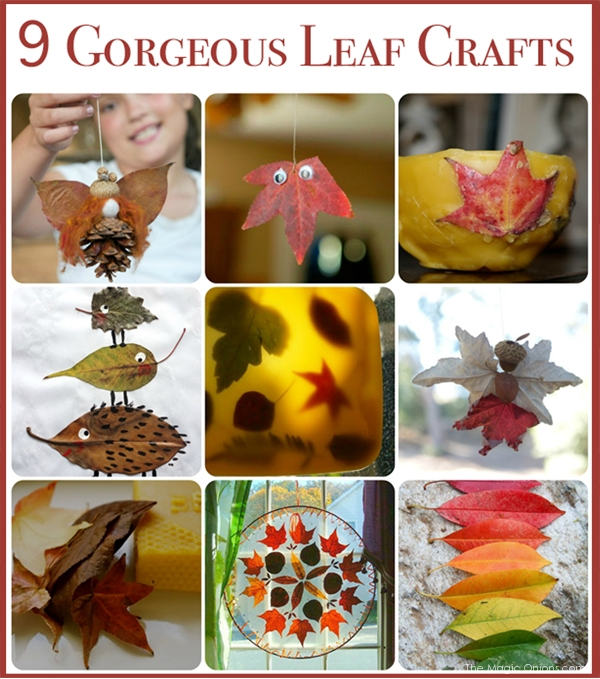 Phtoo of 15 Nature-inspired Autumn Fall Crafts : www.theMagicOnions.com