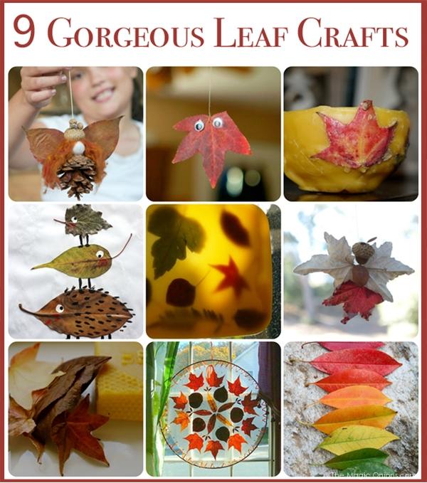 15 Nature Inspired Autumn Crafts