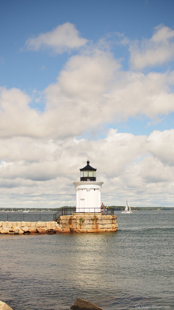 Lighthouse in Portand, Maine