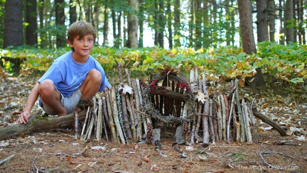 The Enchanting Fairy Houses of Mackworth Island, Maine.
