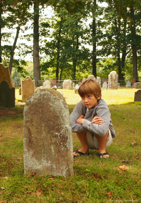 Photo of a Family Graveyard : www.theMagicOnions.com