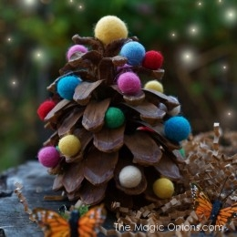 Our Most Popular Pine Cone Christmas DIY Crafting Tutorials