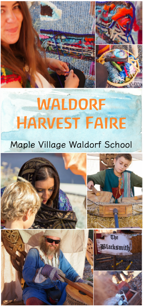 Waldorf Harvest Faire :: Discovering Waldorf Educations :: www.theMagicOnions.com