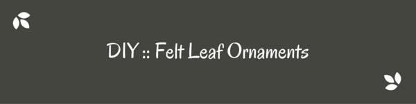 Make felt leaf ornaments-3