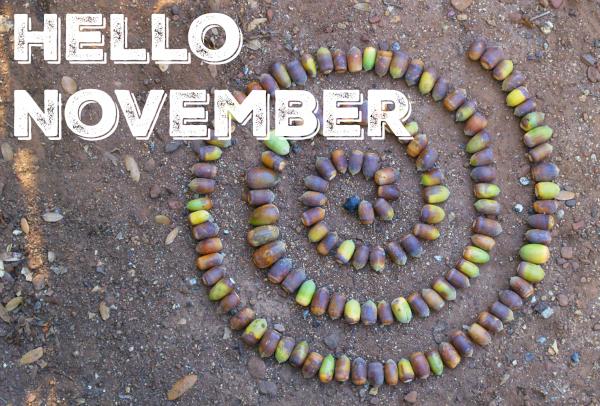 Hello Novemember : www.theMagicOnions.com