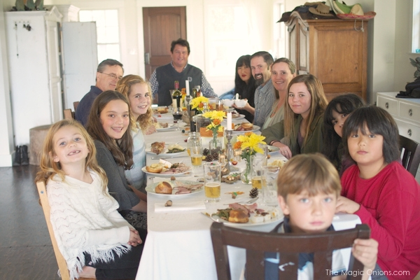 Thanksgiving at The Sunny House