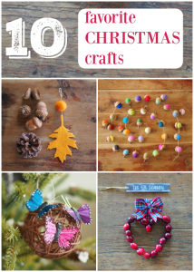 10 Favorite Christmas Crafts :: DIY Tutorials :: www.theMagicOnions.com