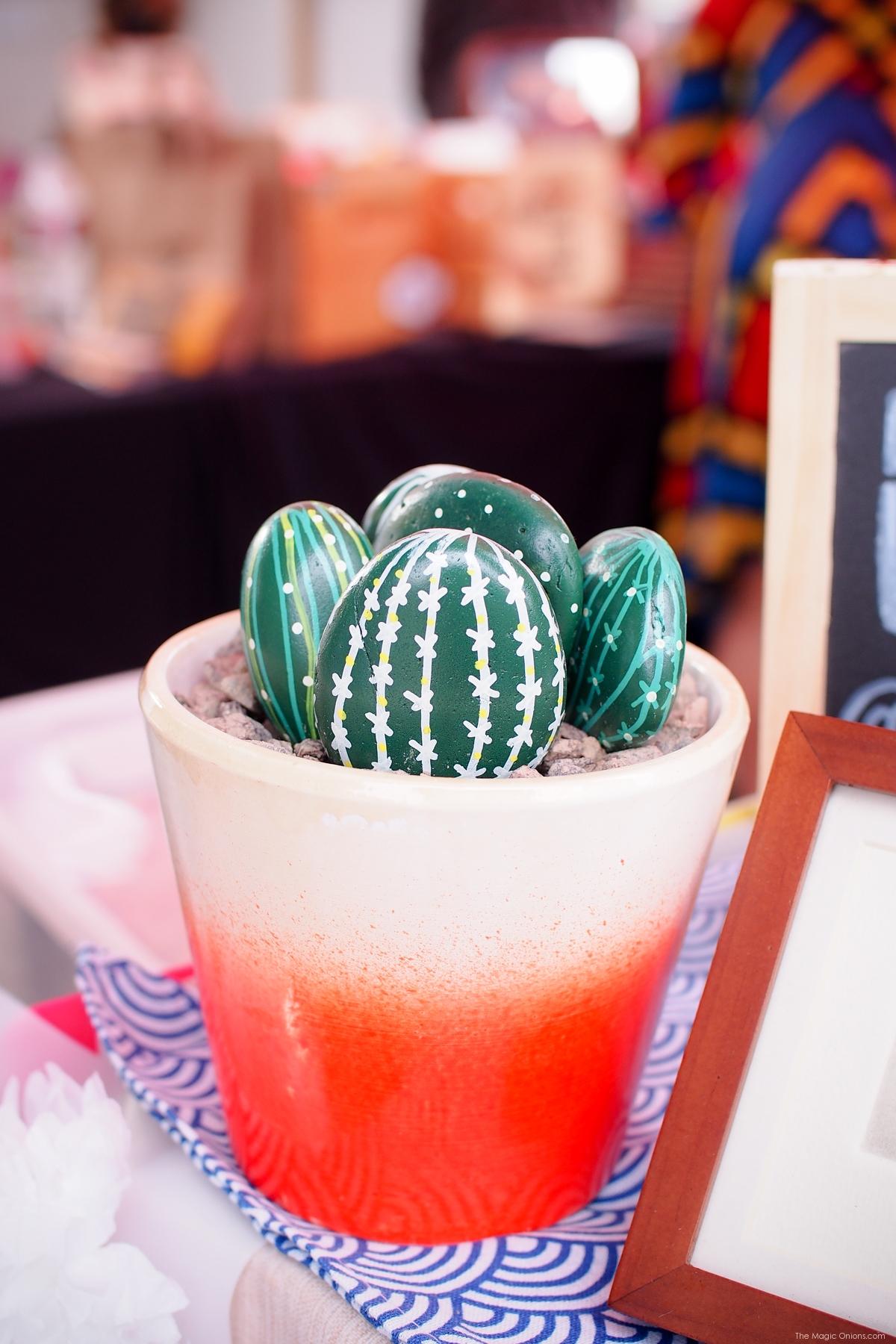 Succulent rocks :: www.theMagicOnions.com