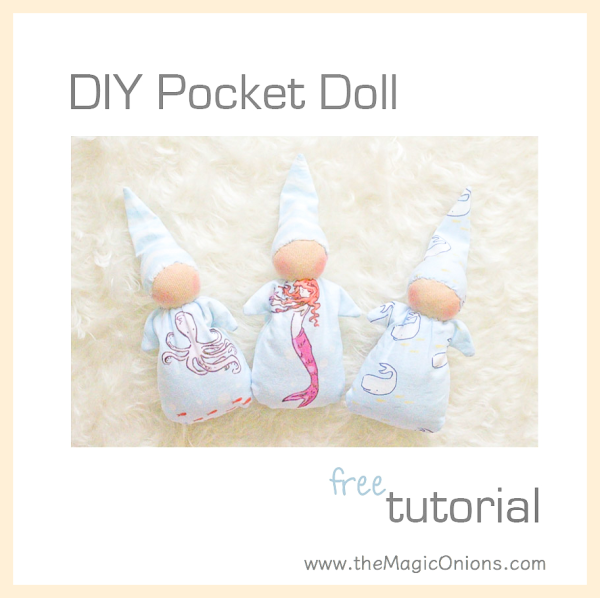Making A Waldorf Pocket Doll :: FREE Pattern DIY Tutorial :: Discovering Waldorf Education