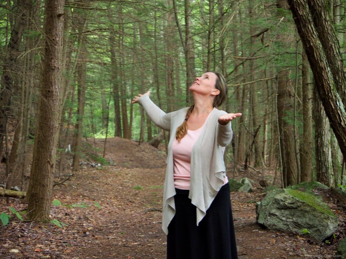 Nature Walk Photo, Keene, New Hampshire, on The Magic Onions Blog