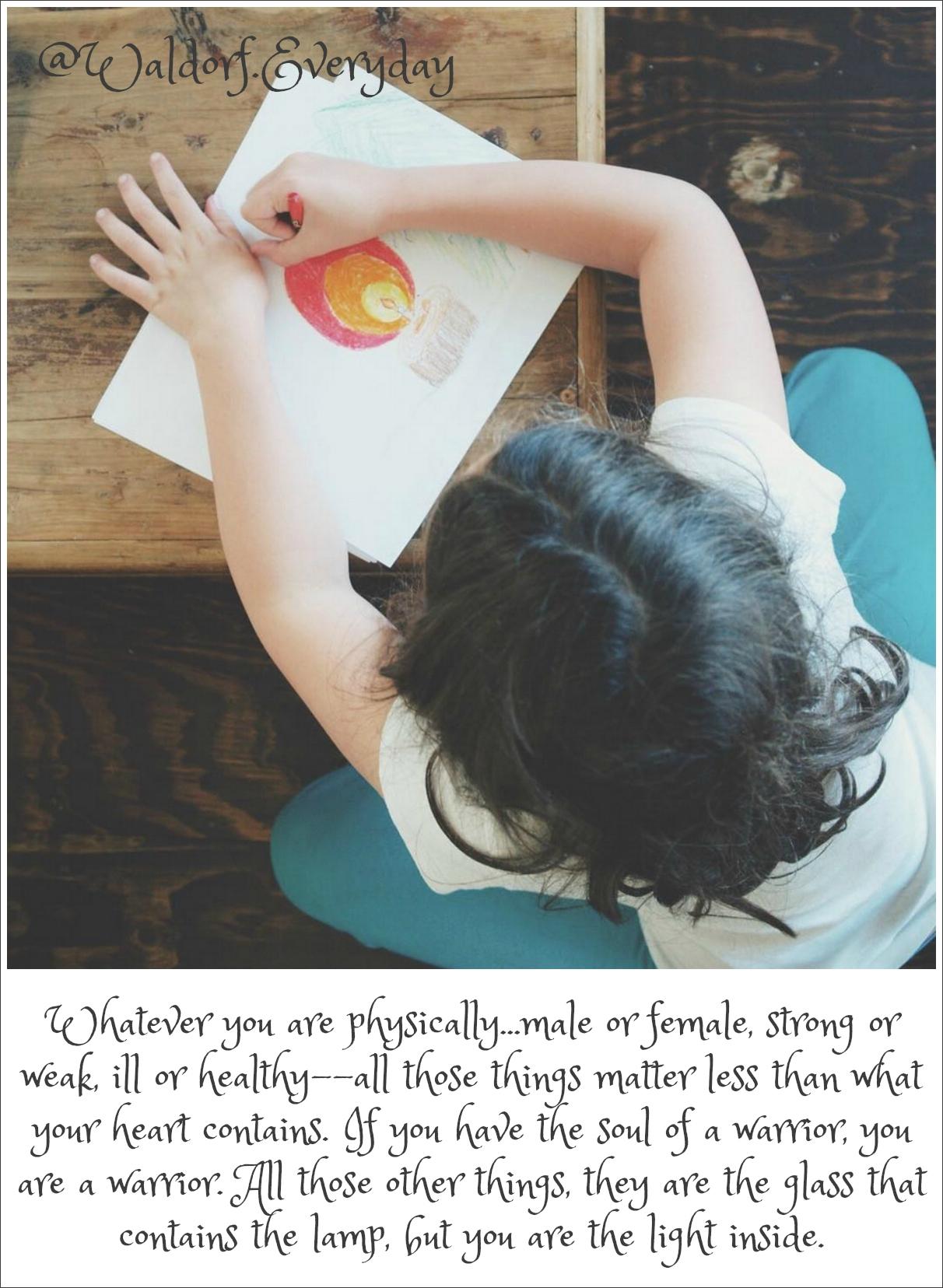 Creativity Waldorf Education :: Discovering Waldorf :: www.theMagicOnions.com