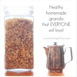 Our Healthy Homemade Granola Recipe