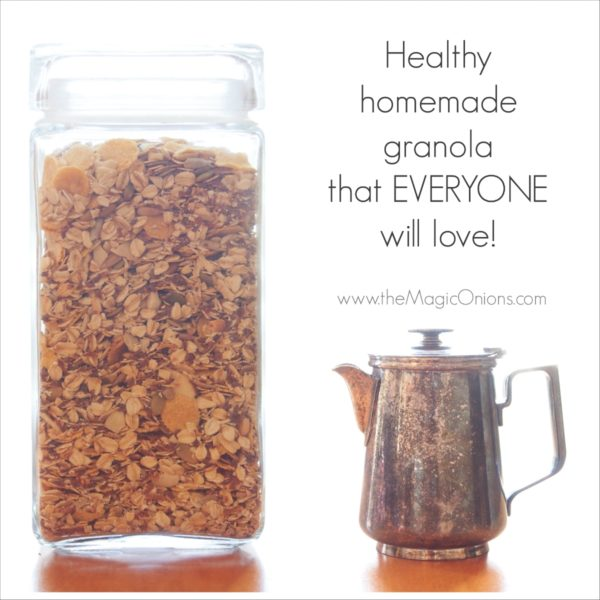 Our Healthy Homemade Granola Recipe