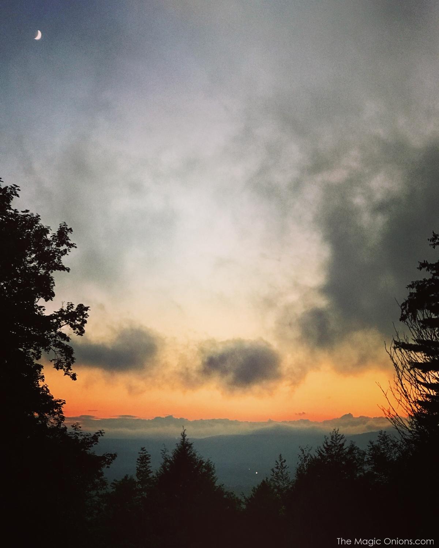 Photo of beautiful sunset