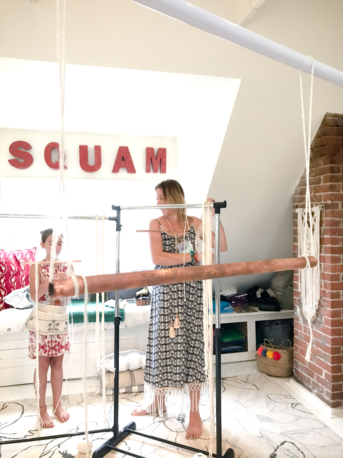 Macrame Workshop at Squam HQ