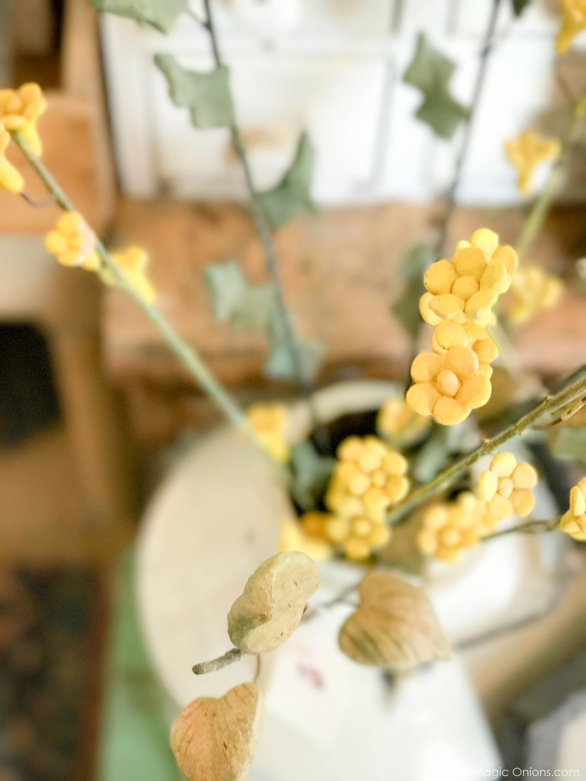 Antique Teracotta Flowers :: The Vintage Trail :: Vermont