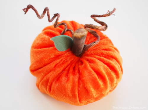 Velvet Pumpkins :: DIY Tutorial