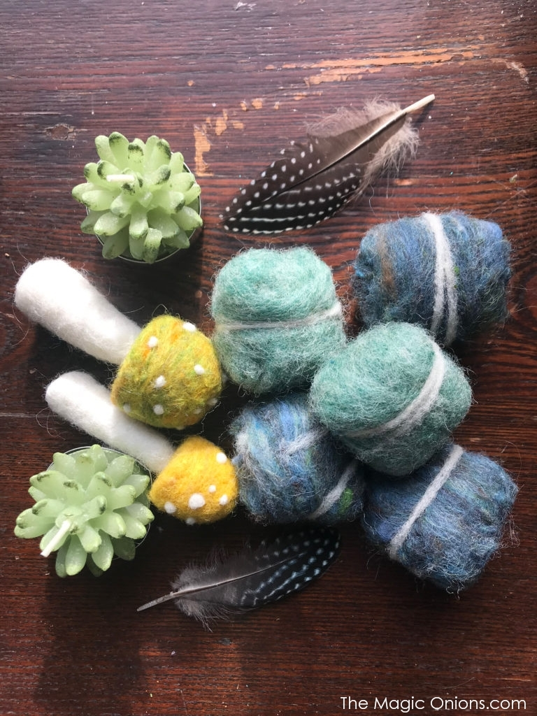 Felted Rocks